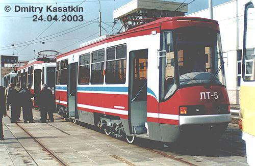 Московский трамвай подвижной состав