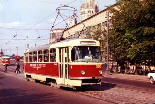 Трамвайный вагон Т-3 N506,